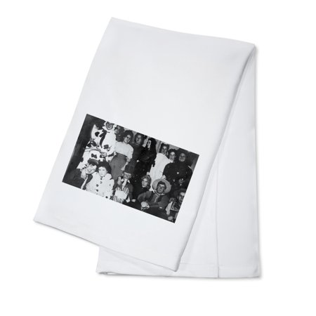 A Halloween Costume Party (100% Cotton Kitchen Towel)