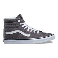 f19788908c Vans SK8 Hi Micro Herringbone Black True White Men s Skate Shoes Size 10