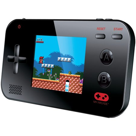 "My Arcade Gamer V Portable Retro Gaming System - 220 Built-in Retro Style Games and 2.4"" LCD Screen – Black"