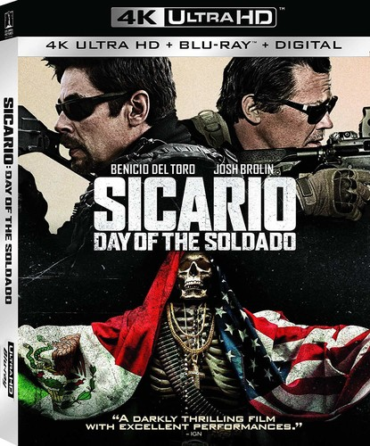 Sicario: Day of the Soldado (4K Ultra HD + Blu-ray + Digital Copy)