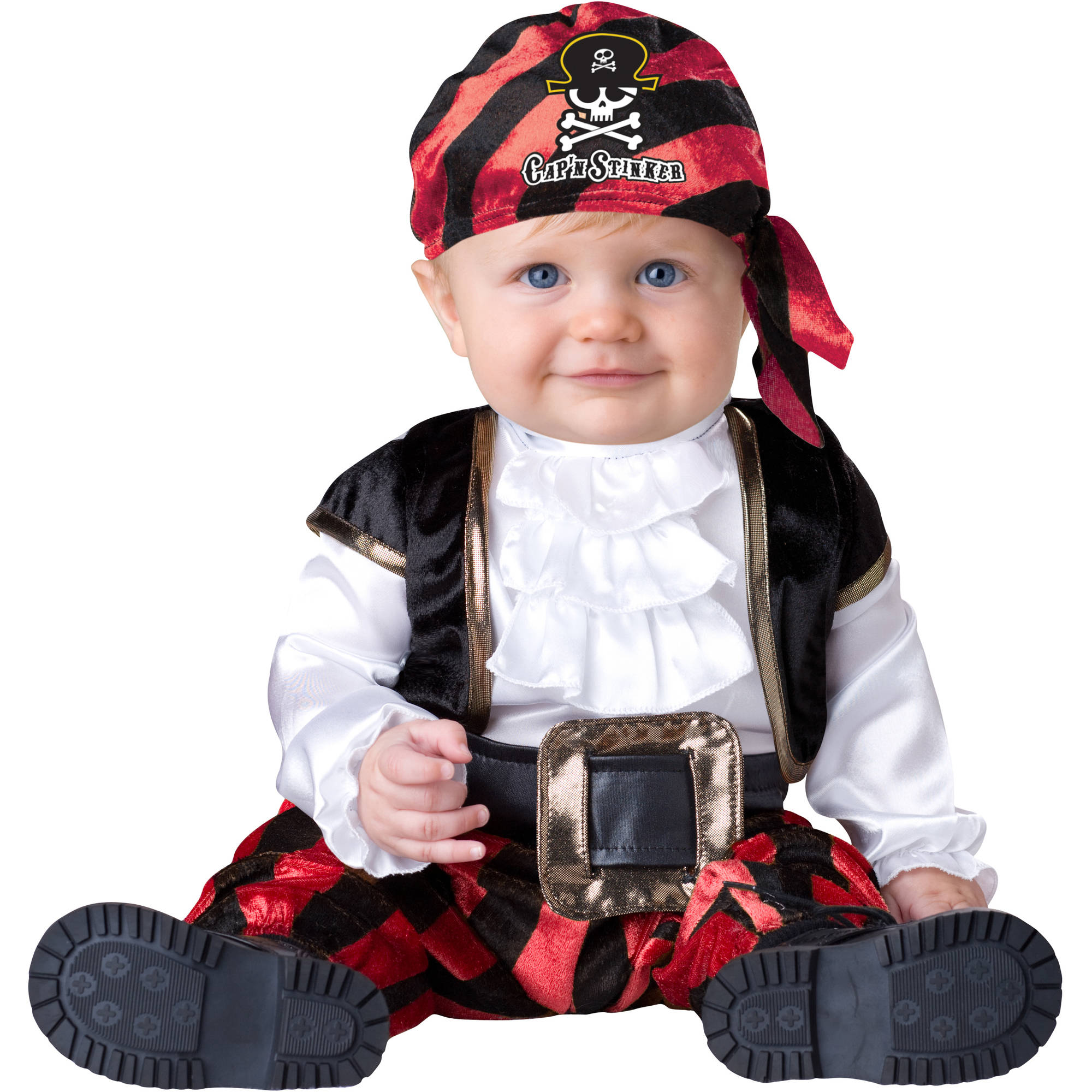 sc 1 st  Walmart & Pint-Sized Pirate Infant Halloween Costume - Walmart.com