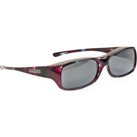 Fitovers Eyewear - Mooya - Mother of Pearl/polarized Grey - Fits Over Small Frames Not Exceeding 136mm X (Momo Sunglasses)