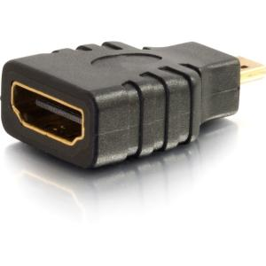 HDMI FEMALE TO HDMI MICRO MALE ADAPTER CONNECT A MOBILE DEVICE TO A DISPLAY USIN