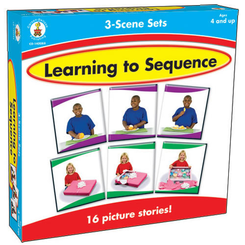 Learning To Sequence: 3 Scene Sets
