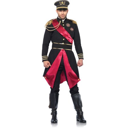 Leg Avenue Men's Military General Costume - General Lee Costume