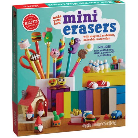Make Your Own Mini Erasers - Make Your Own Jewelry Kit