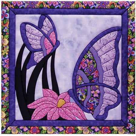 Complete Quilt Kit (Butterfly Quilt Magic Kit, Large)