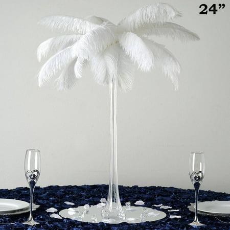 Balsacircle 12 Pcs 24 Tall Wedding Centerpiece Eiffel Tower Vases