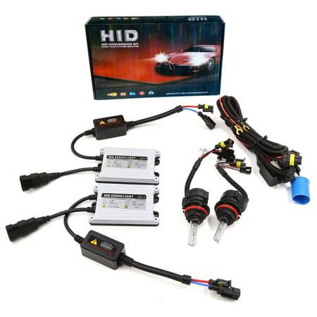 AC 55w 9004 9007 Hid Headlight Kit With SLIM Ballast Bi Xenon 6000K
