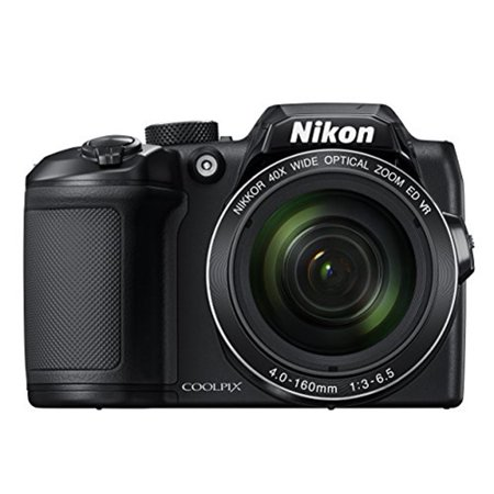Nikon Black COOLPIX B500 Digital Camera with 16 Megapixels and 40x Optical