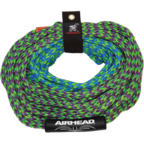 Airhead Boat 2 Section Tube 50-60 Foot Tow Rope for 4 Rider Towables | AHTR-42