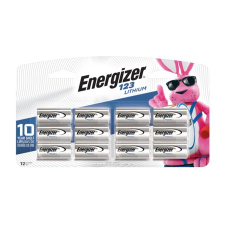 Energizer Lithium 123 Photo Batteries 12/Pk Lithium Photo Camera Battery
