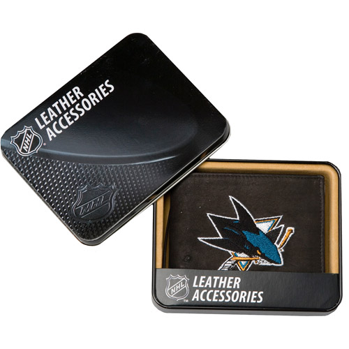 NHL - Men's San Jose Sharks Embroidered Billfold Wallet