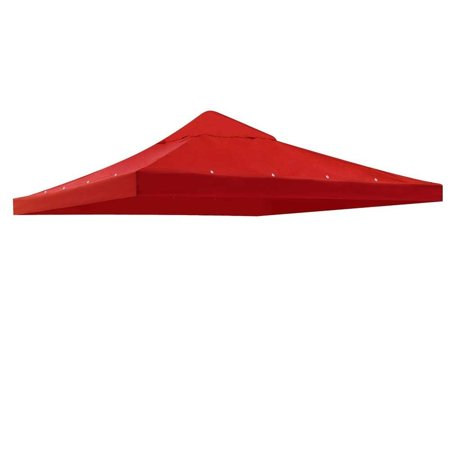 All Weather Heavy Duty RED Color Backyard Patio Single Sun Shade 10x10