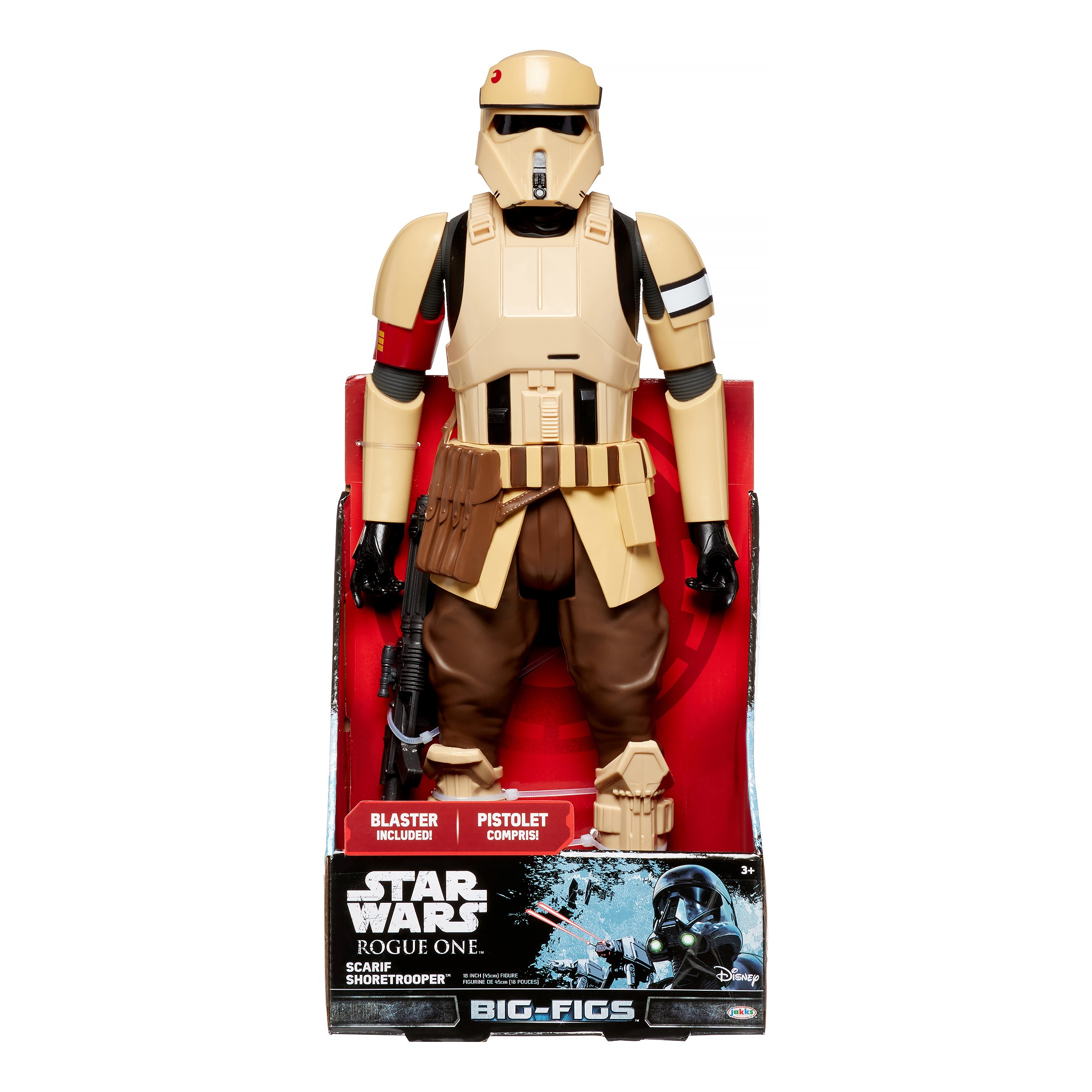"BIG FIGS STAR WARS ROGUE ONE - 18"" Shoretrooper"