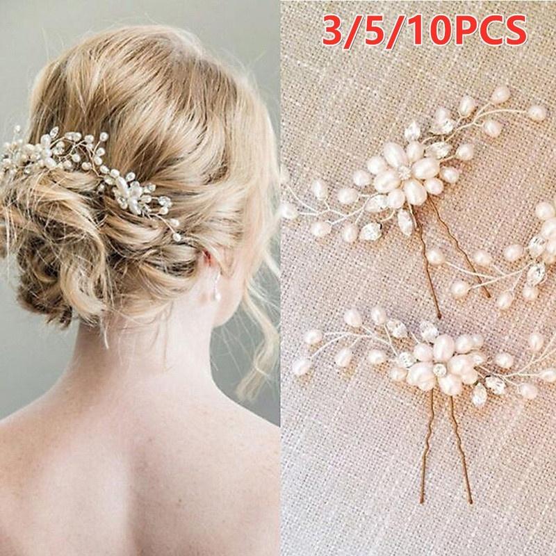 pearl Slide clip Pearl hair clip vintage pearl hair accessories bridesmaids hair accessories Bridal Bridesmaid Girls Gift hair slides