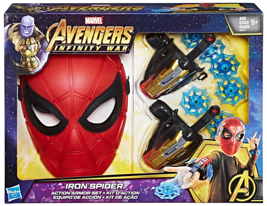 Marvel Avengers: Infinity War Iron Spider Action Armor Set by