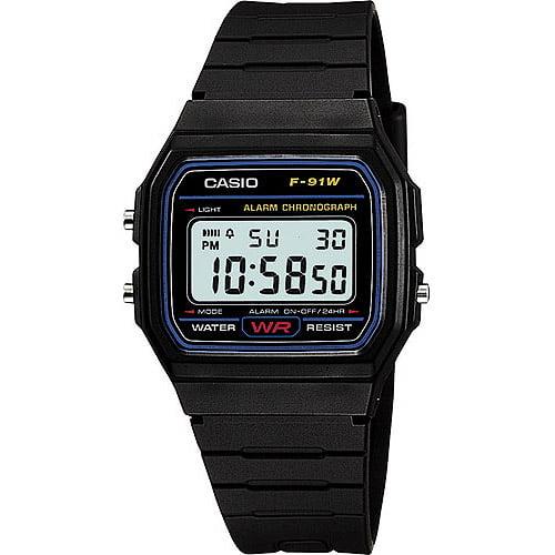Casio Men's Classic Digital Watch, Black