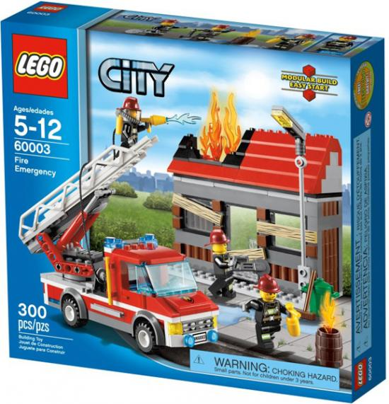 LEGO City Fire Emergency Play Set