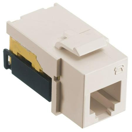 Hubbell Wiring Systems NSJULA Net Select, Jack, USOC, 6-Position, Light Almond