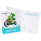 Birthday Express Mario Kart Wii Thank-You Notes [set of 8]
