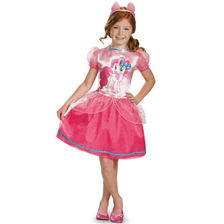 My Little Pony Pinkie Pie Classic Costume for Kids - Pinkie Pie Equestria Girl Costume