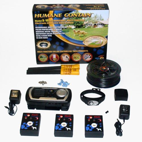 High Tech Pet Indoor / Outdoor Rechargeable Multi Pet Ele...