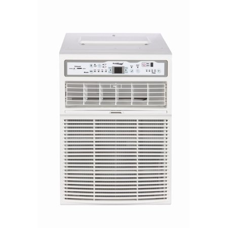 Koldfront CAC10000W White 10000 BTU 115V Casement Air Conditioner with Dehumidifier and Remote Control