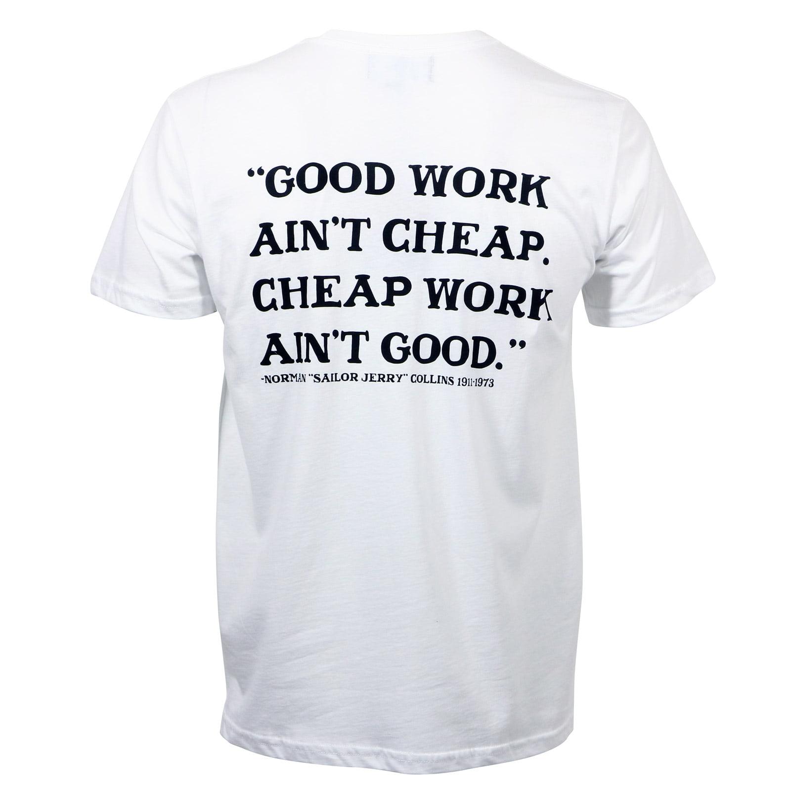 SAILOR JERRY Tattoo Globe Eagle Slim Fit T-Shirt Olive S-2XL NEW