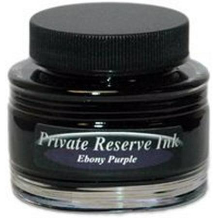 Private Reserve Ink 66ml Bottle Fountain Pen Ink - Ebony Purple (38-pe) ()