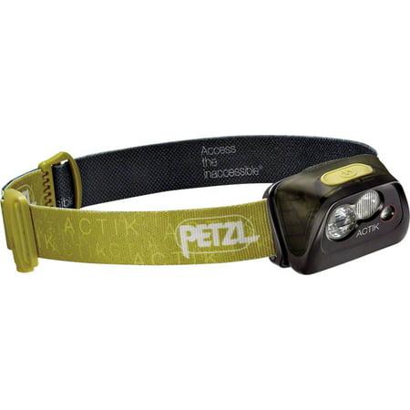 Petzl ACTIK Headlamp 300 Lumens Green