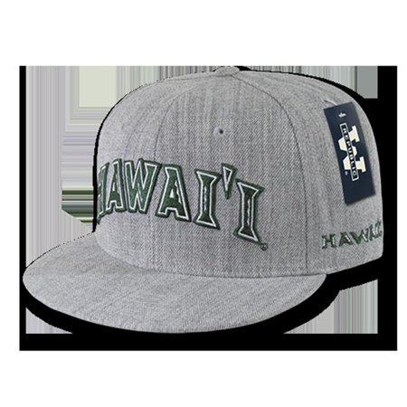 W Republic Game Day Fitted Hawaii, Heather Grey - Size 7.13 - image 1 de 1
