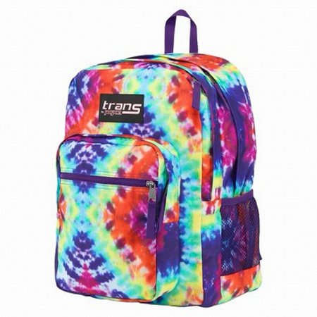 Trans Hippie Tie Dye Backpack Sport School Travel Pack Back Pack