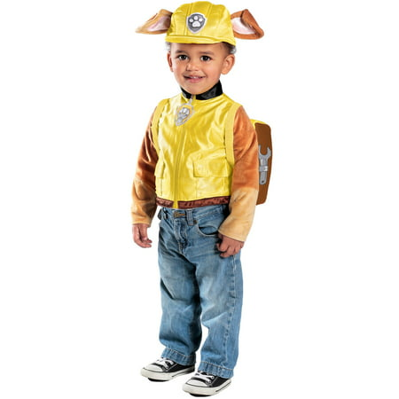Paw Patrol Rubble Deluxe Costume for Toddler - Paw Patrol Halloween Costumes Rubble