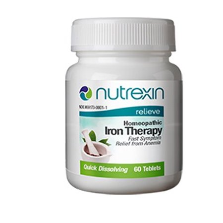 Nutrients 60 Tablets (Nutrexin - Iron Therapy, Supports Better Nutrient Absorption, 60 Tablets )