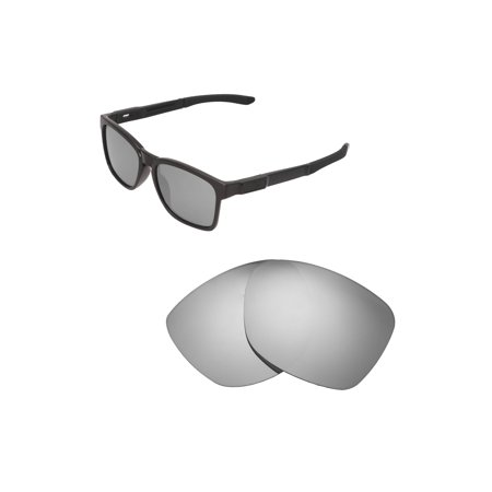 275bbf6958 Walleva - Walleva Titanium Polarized Replacement Lenses for Oakley Catalyst  Sunglasses - Walmart.com