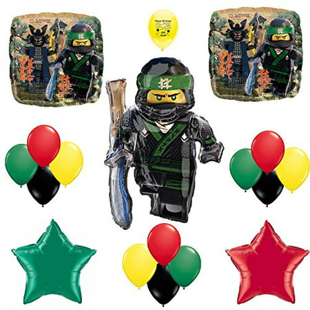 Movie Theater Party Supplies (Ninjago Movie Party Supplies Birthday Party Balloon)