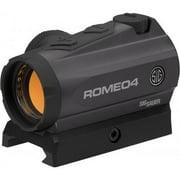 Sig Sauer Romeo 4a Red Dot Sight 1x20mm 2 MOA Dot Reticle - SOR41001