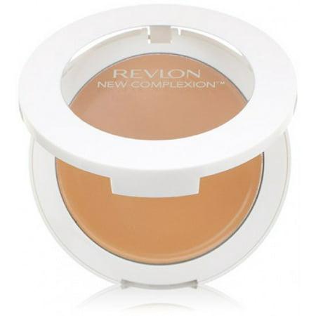 Face Makeup Steps (Revlon New Complexion One-Step Compact Makeup, Sand Beige, 0.35)