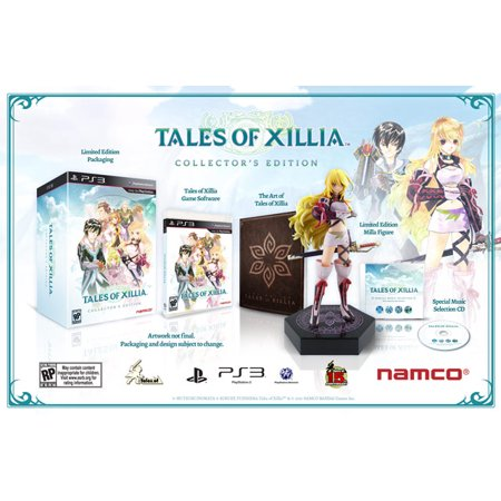 Tales of Xillia (Collector's Edition) [Playstation (Halloween 3 Collector's Edition)