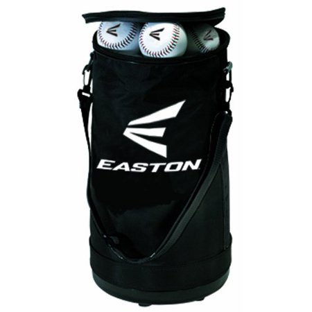 Ball Bag, Durable plastic bottom, reinforced sides, and adjustable shoulder strap By