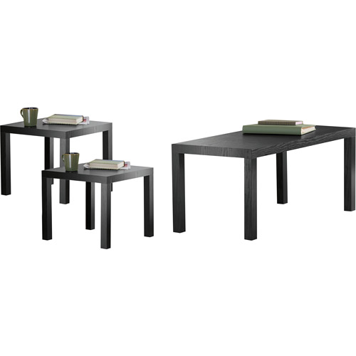 Parsons 3 Piece Coffee U0026 End Tables Value Bundle, Multiple Colors    Walmart.com