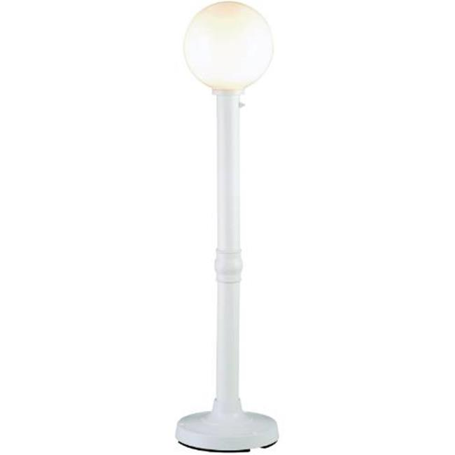 Patio Living Concepts 08711 Globe Floor Lamp - White
