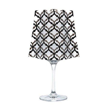 Modgy SH5001x2 Lumizu Wine Glass Shade LeLe-Pack of - Wine Glass Shades