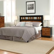 Standard Furniture Steelwood Panel Headboard in Oak & Cherry - (Twin)