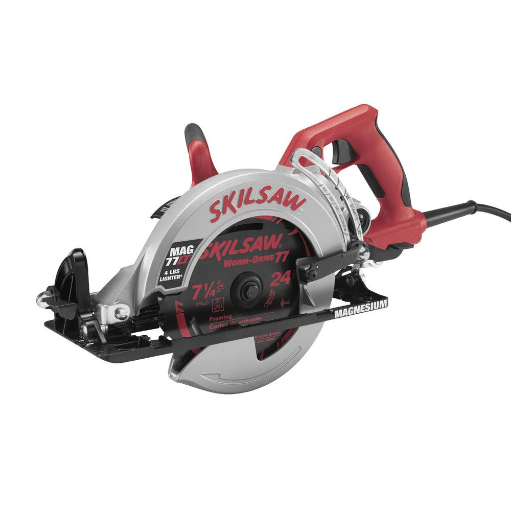 Factory-Reconditioned SKILSAW MAG77LT-RT 7-1/4 in. Magnesium Worm Drive SKILSAW (Refurbished)