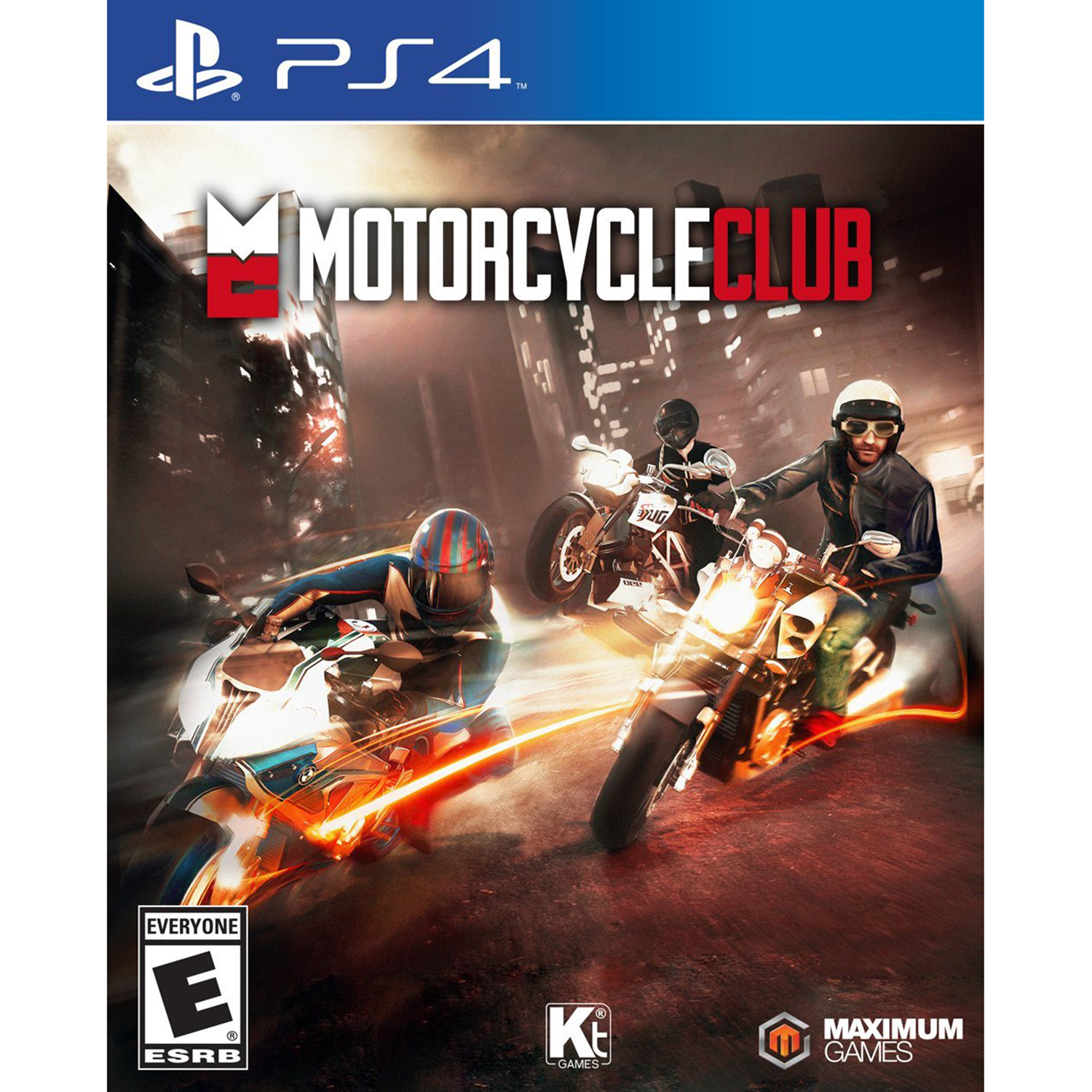 Sony PlayStation 4 Motorcycle Club Video Game