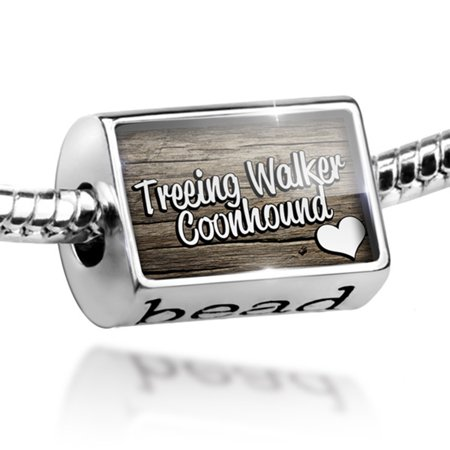 Bead Treeing Walker Coonhound, Dog Breed United States Charm Fits All European Bracelets