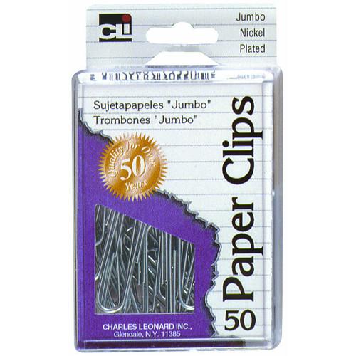 Charles Leonard Co. Jumbo Paper Clip 50 Count