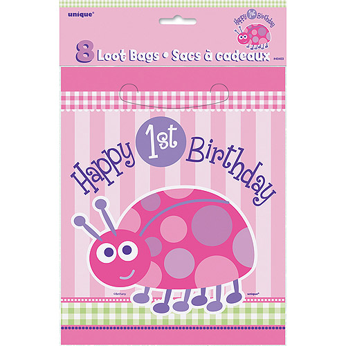 Cardboard Ladybug 1st Birthday Cupcake Stand Unique 40417
